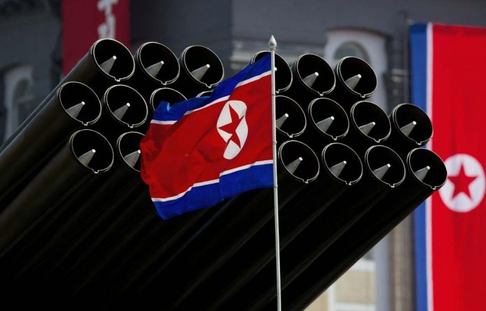 North Korea tried to export ballistic missile parts to Syria in May in violation of UN sanctions.