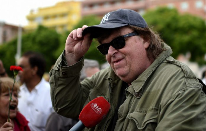 Director Michael Moore.