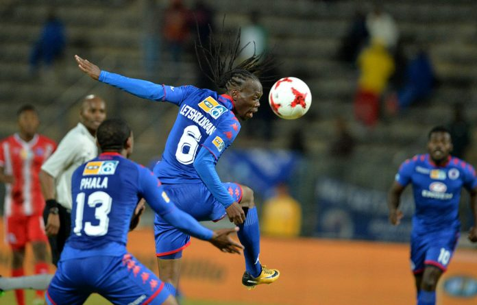 Veteran player Reneilwe 'Yeye' Letsholonyane says going for the PSL championship is the only thing that can redeem SuperSport United's season.