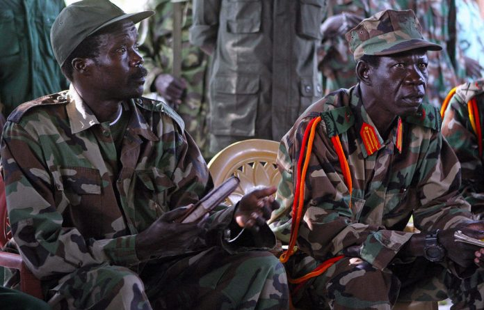 Lord's Resistance Army leader Joseph Kony and his deputy Vincent Otti