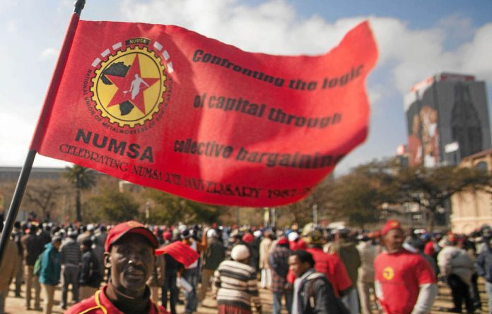 There are 648 Numsa members among Commuter Transport and Locomotives Engineering's 712 employees.
