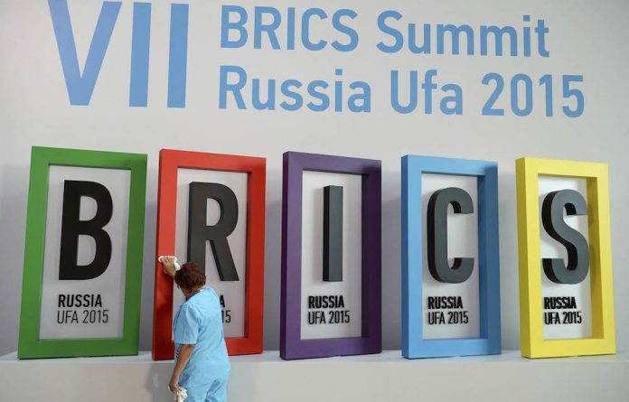 South Africa joined the BRICS formation in 2011
