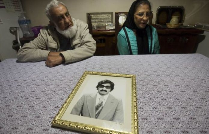 Hope for justice: Ismail Haffejee and Sarah Lall are building a case to argue that the death of their youngest brother