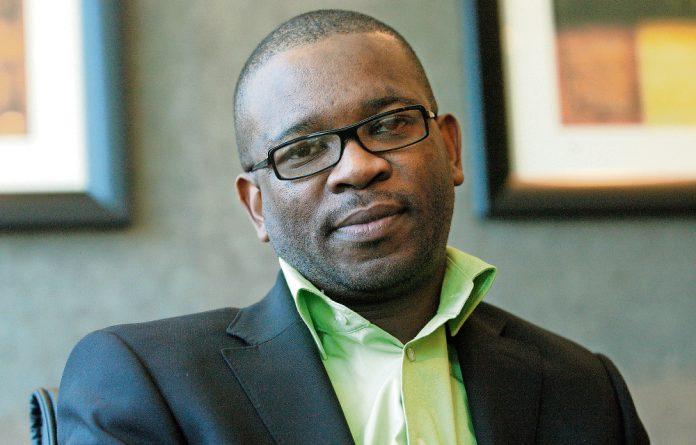 Outspoken academic: Xolela Mangcu will discuss why race still matters.