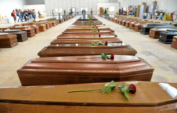 The shipwreck off the ?island of Lampedusa in ?the Mediterranean Sea ?on October 3 claimed the lives of 360 ?African migrants.