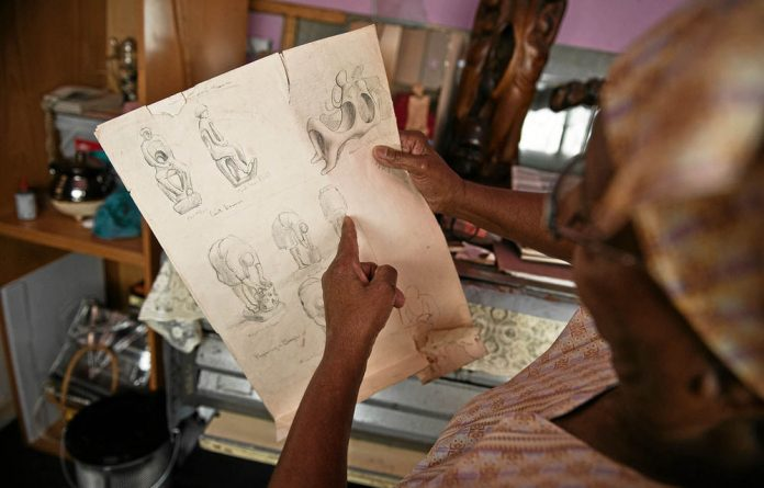 Sihlali produced an enormous body of work in various mediums