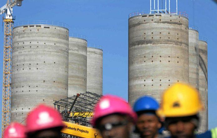 The interest on Eskom's R340-billion build programne increased to R23-billion this year.