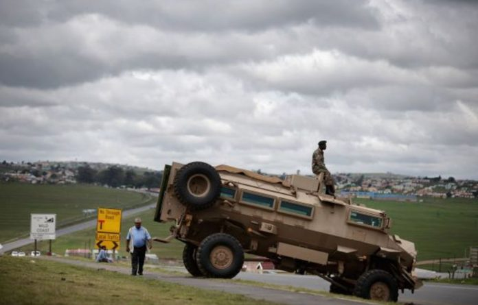 This is the type of military vehicle the eThekwini metro plans to buy so that metro police can control riots in Durban