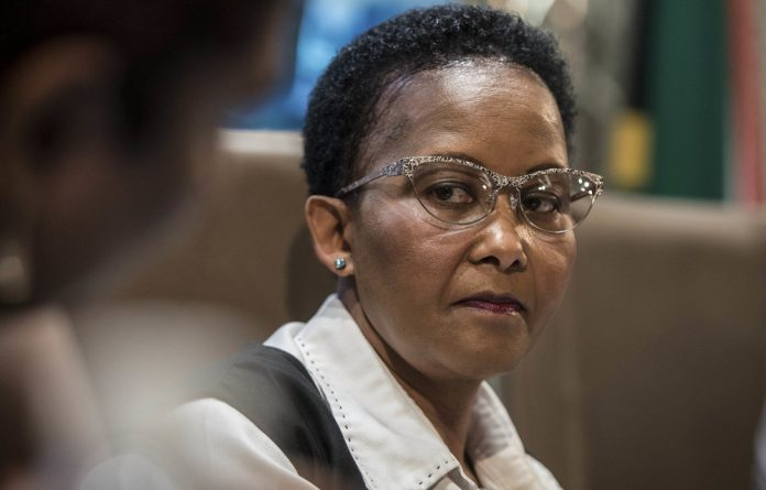 Play ball: Sports minister Tokozile Xasa believes attention must be paid to promising youngsters and she is leaving it up to the Safa and other sporting bodies to sort out their mess but will step in if they fail to show leadership.