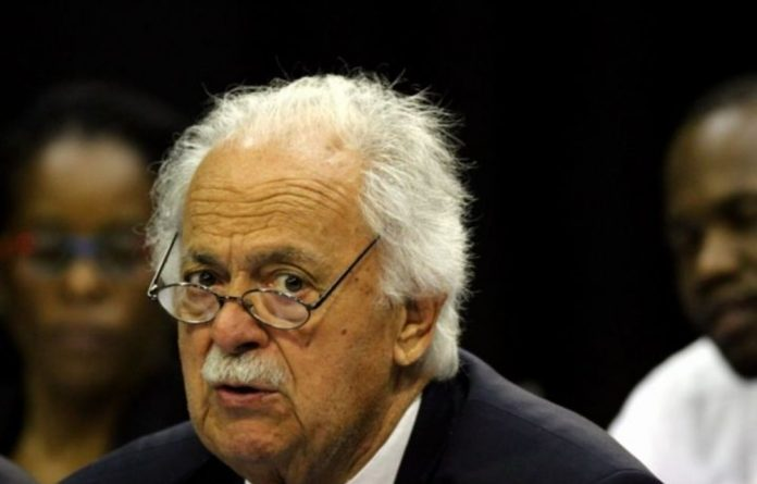 A file photograph of George Bizos