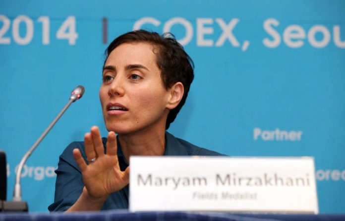 Iranian Maryam Mirzakhani is one of the few female mathematicians to have penetrated the glass ceiling.