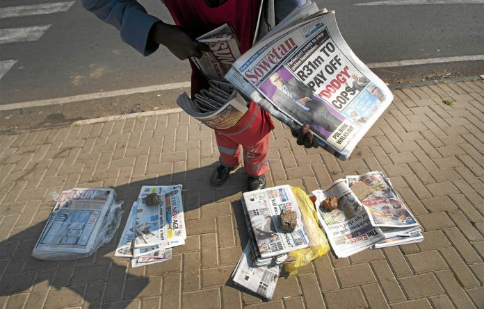 The South African media industry will keep an eye on how new owners move to combat dwindling circulation and advertising revenues.
