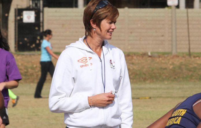 South Africa's university netball coach Dorette Badenhorst.