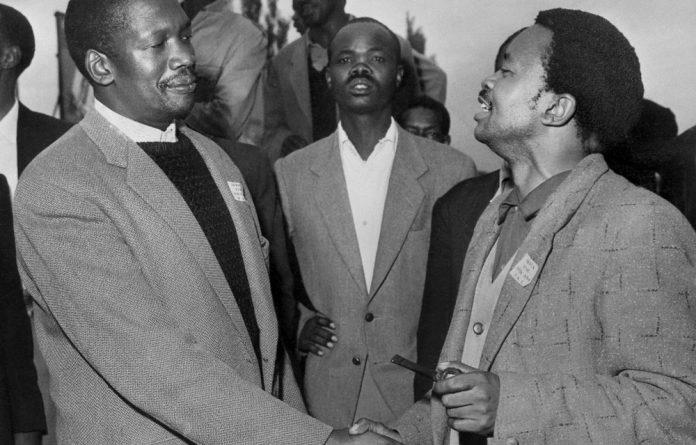 Pan Africanist Congress founder Robert Sobukwe