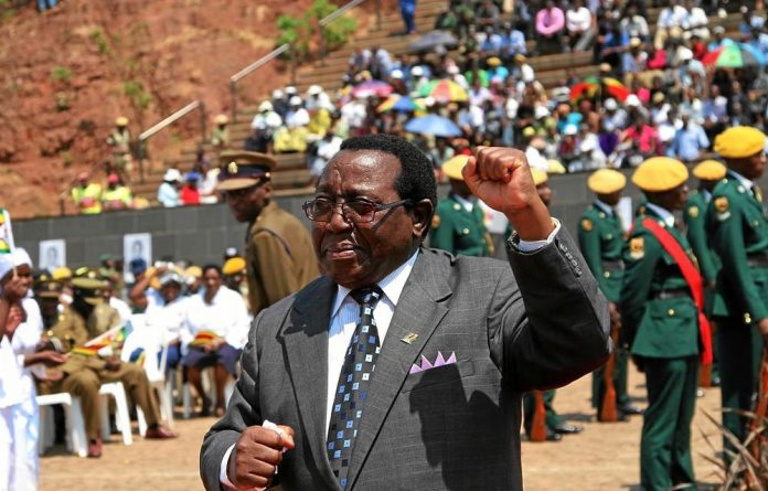 In favour: Simon Khaya Moyo will benefit from Zanu-PF's new regulations as he is now the favourite for the second vice-president post because his main rival has not served Zanu-PF for 15 years.