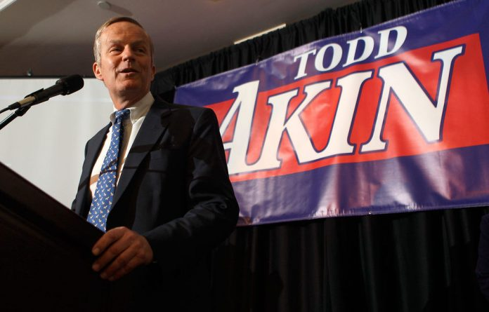 Todd Akin sparked outrage by suggesting that