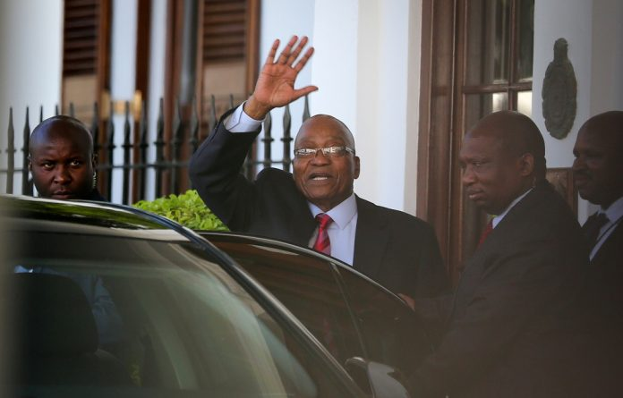 Zuma (pictured) came to power as ANC president at a time of great turmoil for the party and its alliance. (Sumaya Hisham/Reuters)