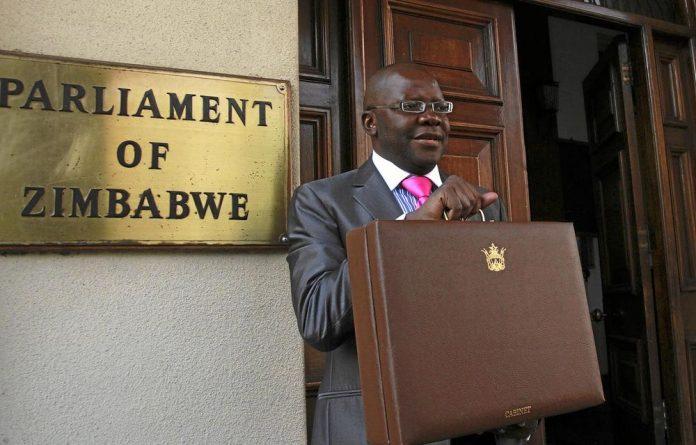 Zimbabwe's Finance Minister Tendai Biti.
