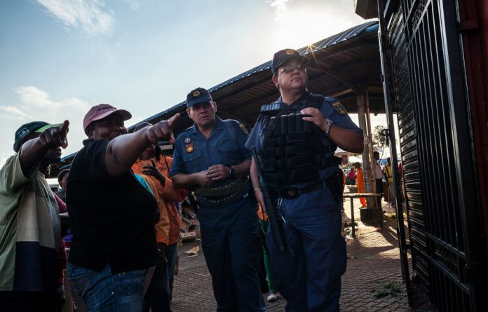 Foreign national-owned shops were last week cleared out by mobs as police stood idle or – in a small number of cases – were accused of aiding and abetting looters.