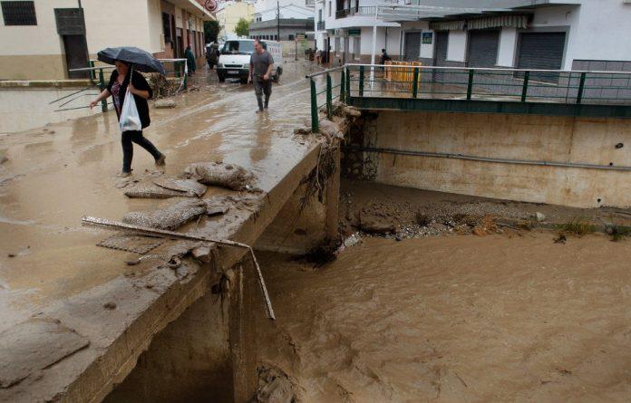 Flooding in Spain has killed nine people so far