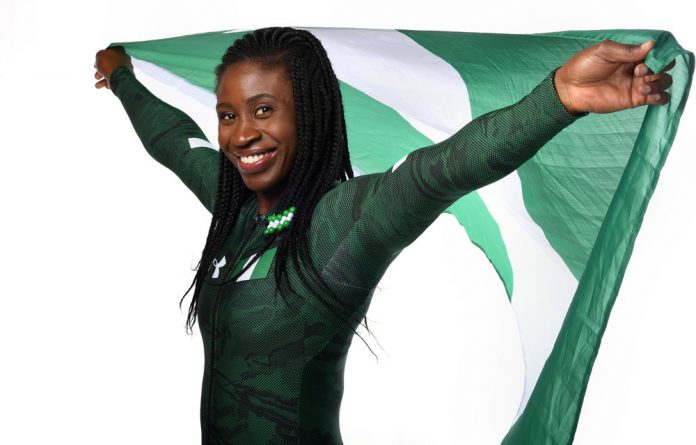 Simidele Adeagbo became the first woman from the continent to compete in the Winter Olympic sport of skeleton racing.
