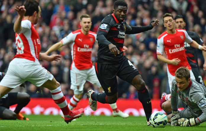 Enjoying every minute: Liverpool defender Kolo Touré says he is 'a fighter and that
