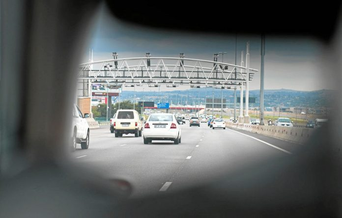 The controversial e-tolls system was launched on December 3 last year.