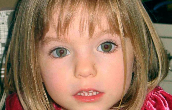 A photo of missing Madeleine McCann