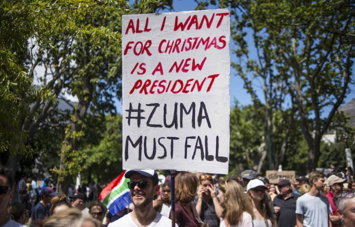 #ZumaMustFall has become a popular phrase for many South Africans in recent times.