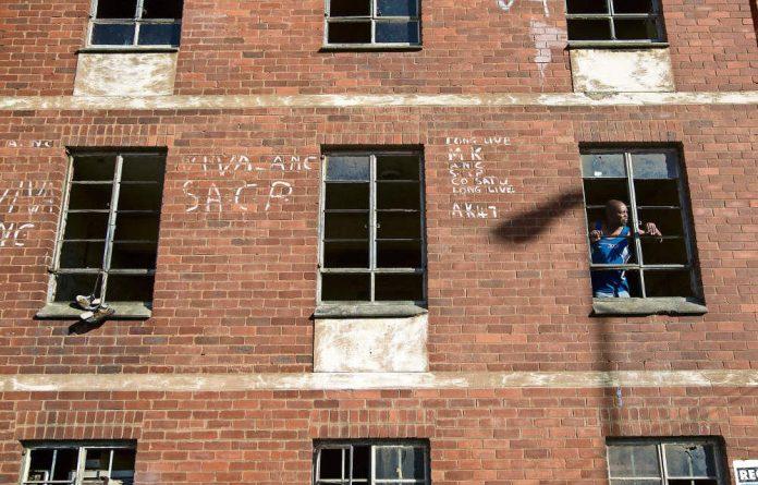 Kill site: Glebelands hostel is the crime scene of at least 21 murders since February 2014.