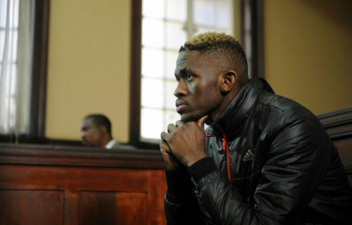 Mantsoe is accused of killing his former girlfriend Karabo Mokoena. He has pleaded not guilty to all charges.
