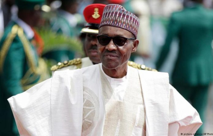 President Muhammadu Buhari said only he was seeking a