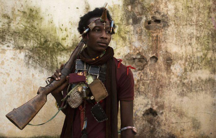 An anti-balaka militiaman in the Central African Republic. Late last year