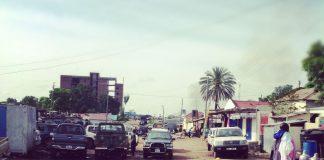 Toyota Land Cruisers are everywhere you look in Juba
