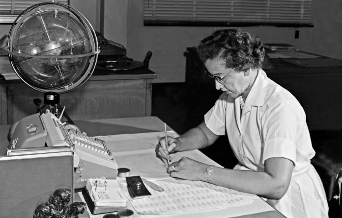 Hard evidence: Katherine Johnson was one of the African-American mathematicians who worked at Nasa and about whom the film Hidden Figures was made.