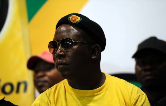 Former ANC Youth League president Julius Malema.