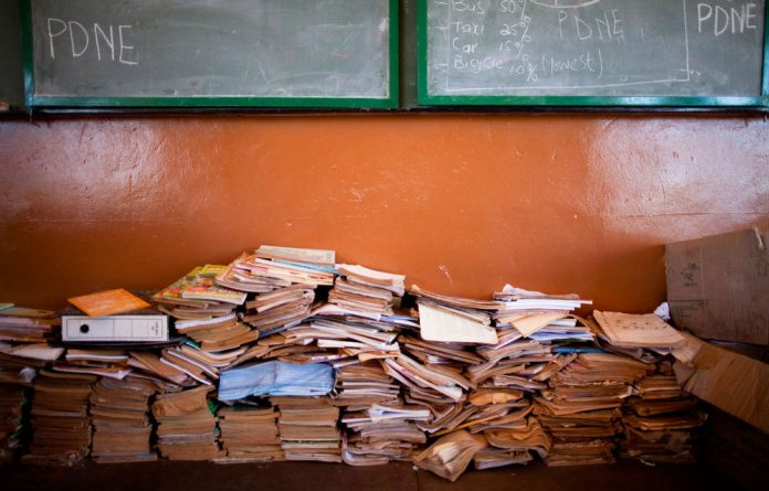 Textbooks that were meant to be delivered to schools in Limpopo were found dumped.