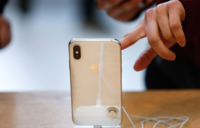 The new Apple iPhone XS and XS Max come in silver