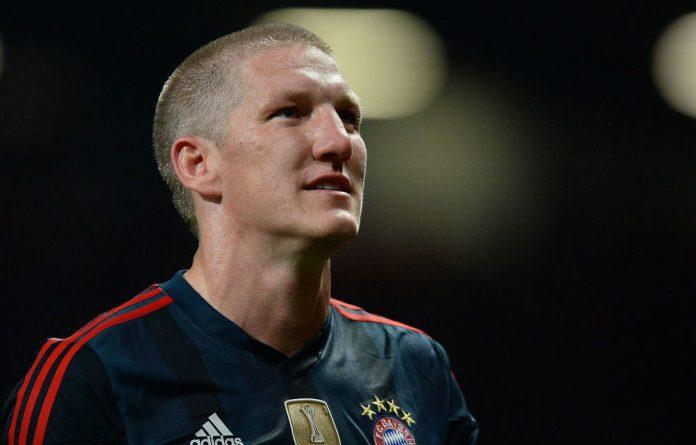 Germany midfielder Bastian Schweinsteiger.