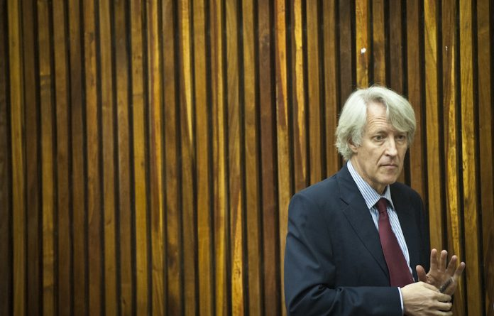 In tongues: Dan Roodt speaks for a group with something to lose. Others have yet to gain the most fundamental rights.