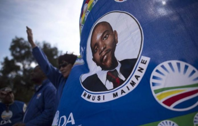Maimane's office has said that the party will be ready to announce its candidate for premier this week.