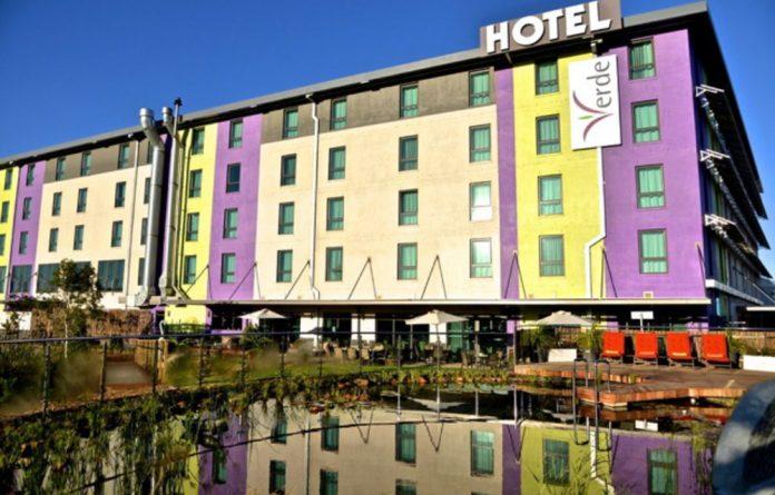 The Hotel Verde near Cape Town International Airport.