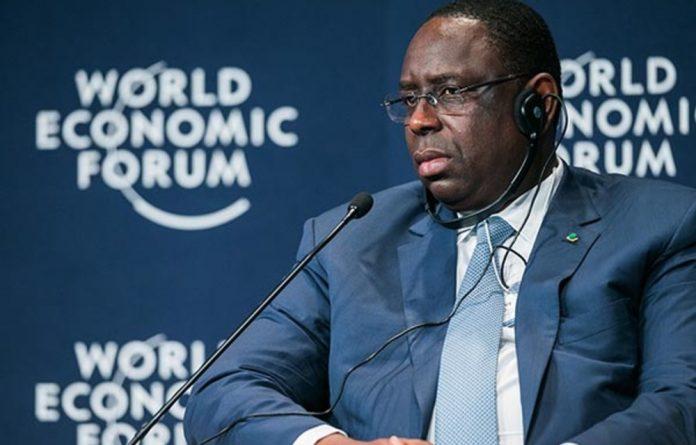 Senegal president Macky Sall.