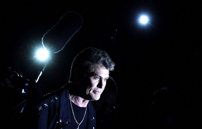 Highlights: Age may have taken its toll but the Hoff still