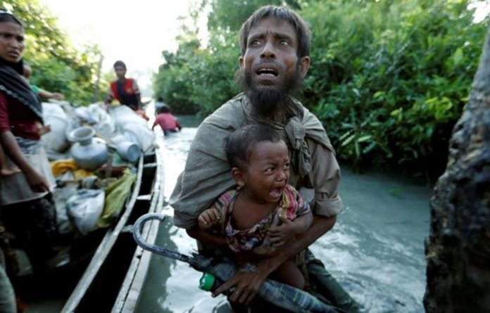 About 700 000 Rohingya fled the Myanmar army crackdown.