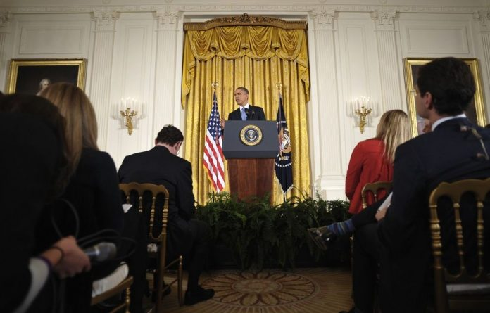 Barack Obama reiterated US support for Israel's right to defend itself.