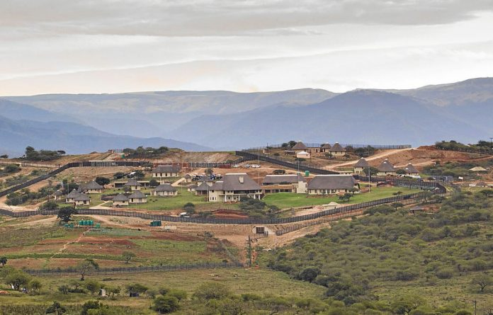 Money flowing from the arms deal allegedly reached Jacob Zuma's Nkandla development.