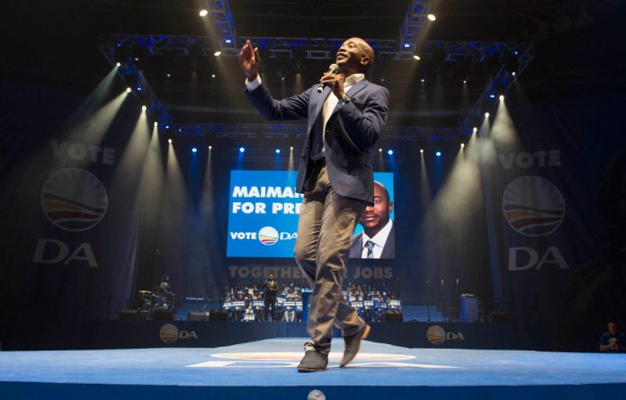Maimane took what was dubbed Twitter Town Hall in his stride.