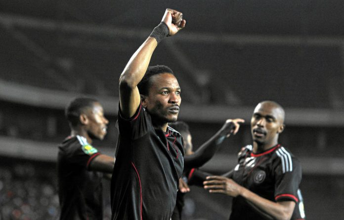 Back to his best: Tlou Segolela will be hoping to torment Zamalek again this weekend.