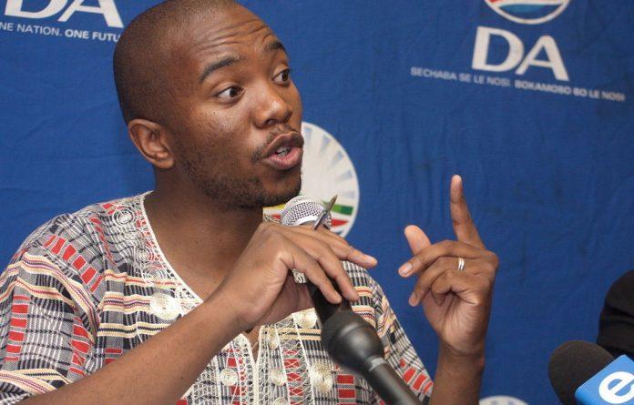 DA's newly elected deputy federal chairperson Mmusi Maimane